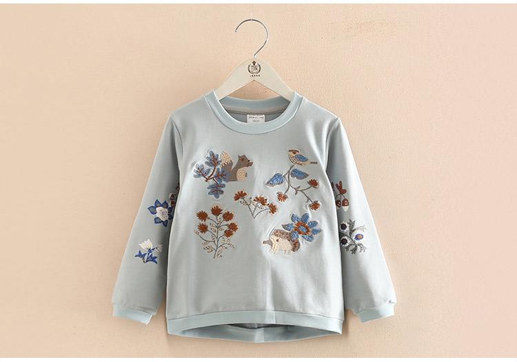 HTB1ZyGqaqmgSKJjSsphq6Ay1VXaa - Kids Girls T Shirts Autumn 2018 Fashion Embroidery Pattern Kids T Shirt Long Sleeve Simple O-neck Children Clothing B0699