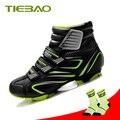 Tiebao Pro, зимняя велосипедная обувь для женщин и мужчин, обувь для горного велосипеда, ветрозащитная, теплая, для верховой езды, Спортивная, сам...