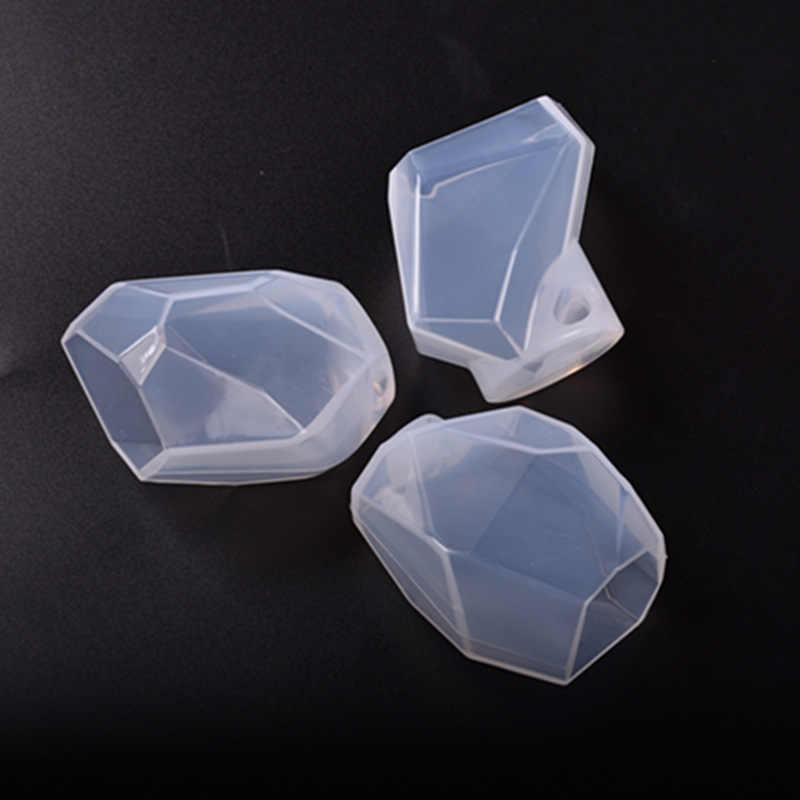 新しい石鹸金型クリスタル不規則な幾何ジュエリー樹脂装飾品クラフト作る装飾