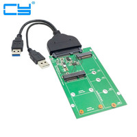 USB 3.0 to 12+6pin SSD HDD to SATA 22Pin Hard Disk Cartridge Drive for Apple 2010 2011 Macbook Air A1369 A1370 SSD