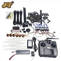JMT Сделай Сам» для rc дрона полный набор 6 осевой самолет комплект с HMF S550 Рамка 6 м Радиолинк с GPS и APM 2,8 полет Управление AT10 дистанционного Упра