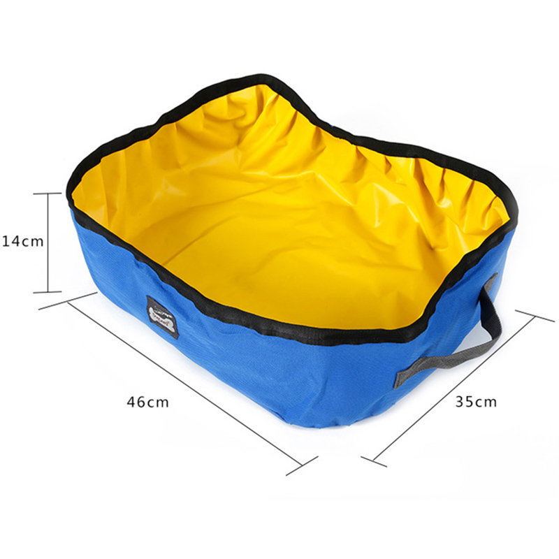 Pet Cat Travel Foldable Portable Outdoor Cat Litter Waterproof Collapsible Box Kitten Toilet Training Bedpan Pl0066 #6