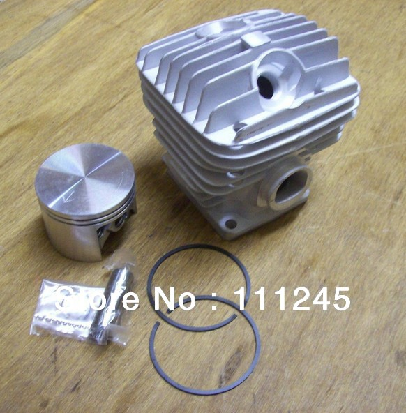 MS460 CYLINDER KIT 52MM FITS ST. CHAINSAW 046 2 CYCLE ZYLINDER PISTON RING PIN CLIPS ASSEMBLY REPL CHAIN SAW PART# 1128 020 1221 cylinder kit 51mm for chainsaw 570 575 xp epa chain saw zylinder kolben piston ring pin clip assembly 537 25 41 02