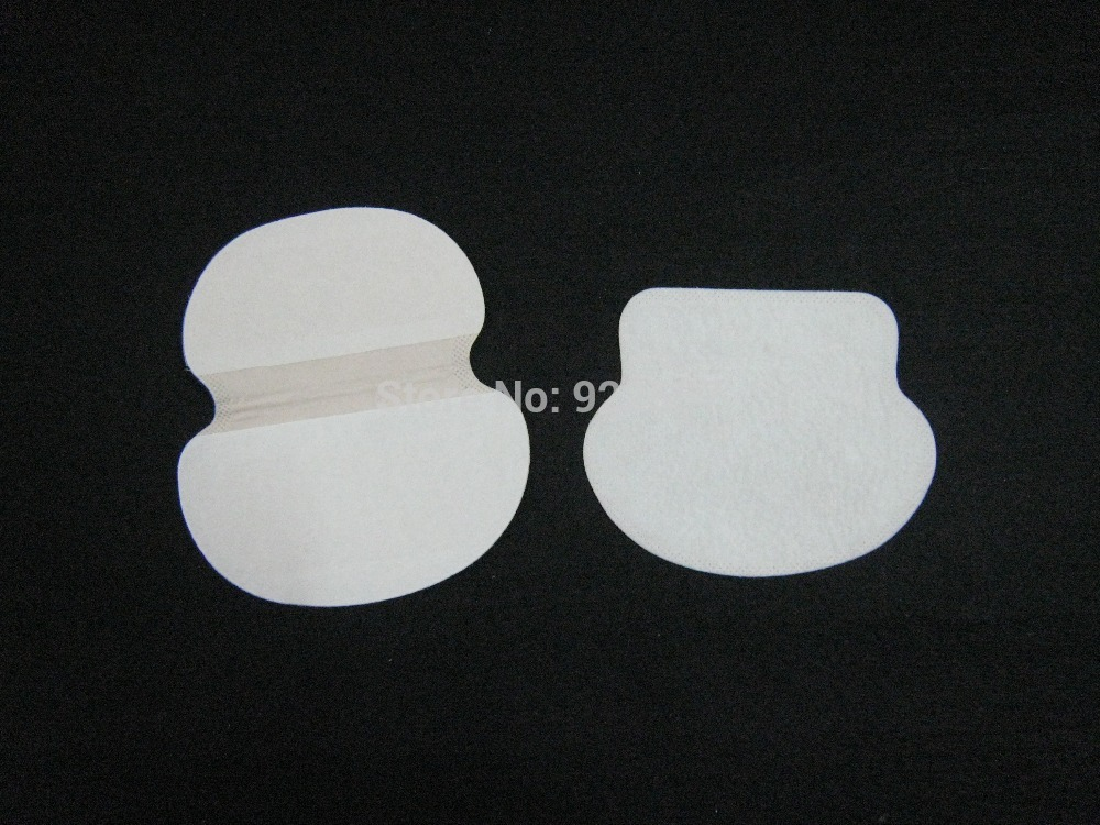 Free Shipping For 100% Cotton Oval Disposable Underarm Shields,underarm Shields,Sweat Pad,Dress Pad,