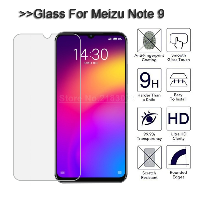 Meizu M9 Note Glass Screen Protector 9H 2.5D Premium Glass for Meizu Note 9 Glass for Meizu Note 9 Film Glass