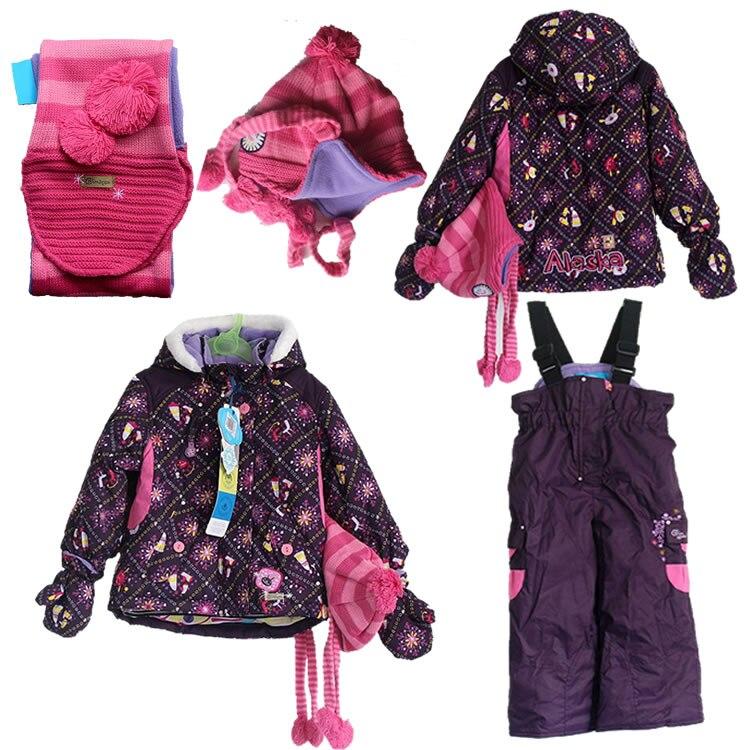 Aliexpress.com : Buy 2t 3t Canada Brand baby girls ski ...