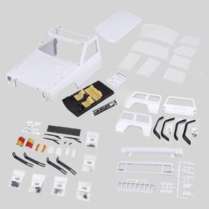 Image 4 - Rc Ax 313 12.3 Inch/313 Mm Auto Body Shell Voor 1/10 Rc Truck Crawler Axiale SCX10 & SCX10 Ii 90046 90047 Diy Kit Cars Body Shell Set