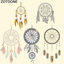 ZOTOONE Dreamcatcher Iron on Patches for Clothes T-shirt Dresses DIY Accessory Kid Decoration Easy Print By Household Irons
