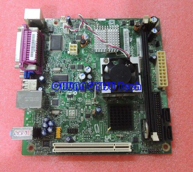 Free shipping CHUANGYISU for original D945GCLF ATOM 230 1.6G 17*17 Mini-ITX desktop mainboard DDR2 work perfect