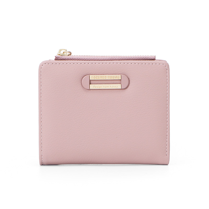 Fashion Brand Designer Small Wallet For Women Card Holder Zipper Coin Purses Ladies Slim Wallet High Quality Female Purse NEW