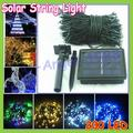 Register shipping+ Christmas Solar LED String Lights 200 LEDs Solar Lamps Garden Outdoor Garland Lights Solar