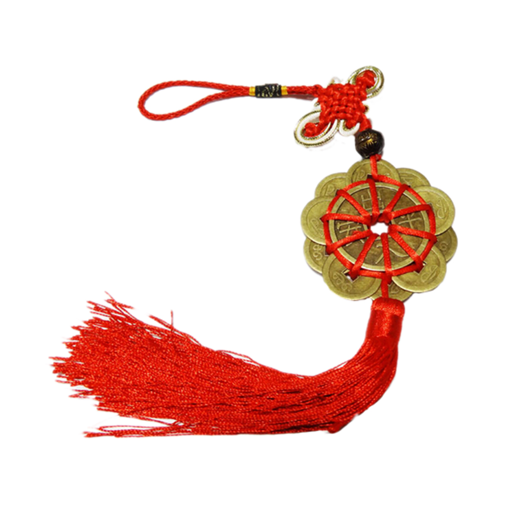 textile career promotion shop for promotional textile career on vintage retro alloy coin plum knot string flower old chinese feng shui lucky coins home career health decor metal crafts