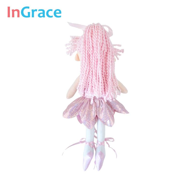 InGrace yeni gəlişi parıldayan balerina kuklaları 3 rəngli super - Kuklalar və kuklalar üçün aksesuarlar - Fotoqrafiya 6