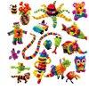 400 Pcs Mega Pack Accessories DIY Magnetic Toys Animals Spot Best Building Blocks Educational Toys For