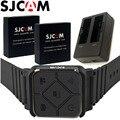 Аккумуляторная батарея SJCAM SJ6 Legend  2 шт.  3 8 В  1000 мАч  двойное зарядное устройство  наручный пульт дистанционного управления для экшн-камеры ...