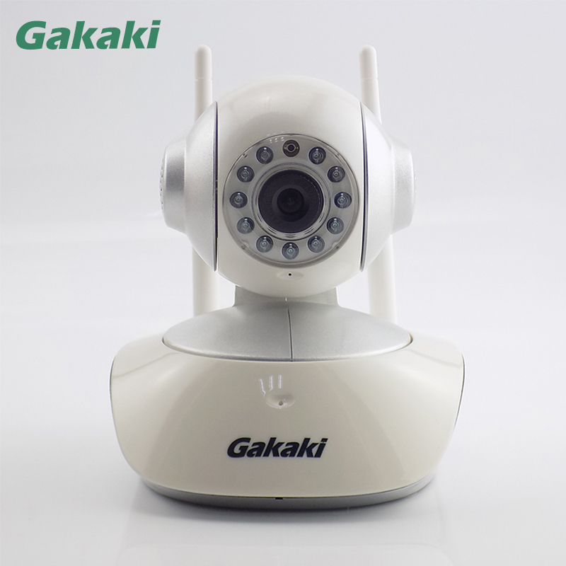 Gakaki Smart Mini Wireless IP Camera Home Security Video Surveillance Network Wifi Night Vision CCTV Camera Indoor Baby Monitor hd 720p ip camera onvif black indoor dome webcam cctv infrared night vision security network smart home 1mp video surveillance