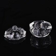 Glass-Cup Acrylic-Powder Dappen Dish Liquid-Glass Crystal Transparent-Kit Nail-Art Clear