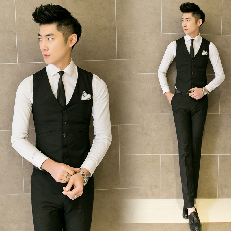 dc65d9d5f 2017 men suit leisure vest impact the groom's best man wedding clothes-in  Vests & Waistcoats from Men's Clothing on Aliexpress.com | Alibaba Group