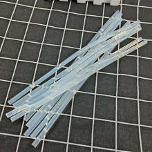10 шт. 7 мм х 25 см термоклеевой пистолет для пластикового клеевого пистолета, длиной около 25 см