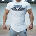 2017 new Gasp T Shirt Muscle Brothers Gymshark Men's T-shirt Slim Thin Modal Summer T Shirt Brand Fitness Bodybuilding Stringer