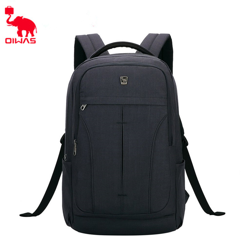 Oiwas Comfortable Leisure Travel 14 inch Laptop Portable Backpack Business Double Shoulder Bags Gift Bag oiwas 2901xl nylon travel double shoulder backpack bag black 32l
