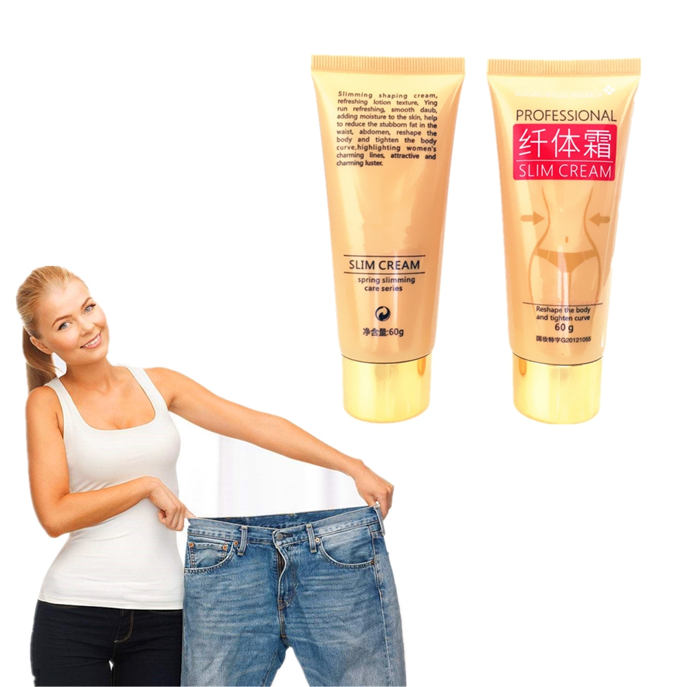 60g Skin Care Grapefruit & Ginger Weight Loss Products Slimming Creams Anti Cellulite Fat Burning Gel Reduce weight Body Creams(China)