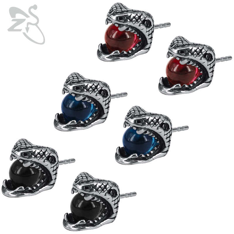 cdfbcd622bab8 Detail Feedback Questions about ZS Stainless Steel Snake Earrings ...