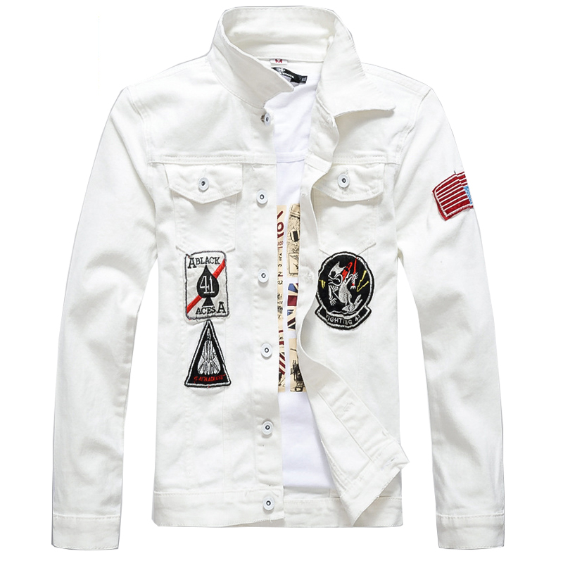 Compare Prices on Mens Denim White Jacket- Online Shopping/Buy Low ...