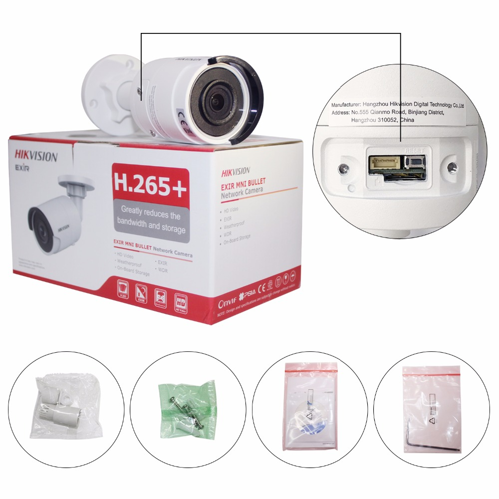Image 3 - Hikvision CCTV Kits NVR DS 7616NI K2/16P 16CH 16POE + Dome / Bullet Camera 4MP IP H265 Video Surveillance Kits Safety for Home-in Surveillance System from Security & Protection