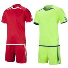 New Professional maillot Survetement Football 2017 kit Soccer Jerseys Sets Uniform pants Shirts sports Tracksuit tennis Jerseys