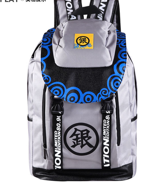 Anime Cartoon Gin Tama One Piece Tokyo Ghoul School Bags Travel
