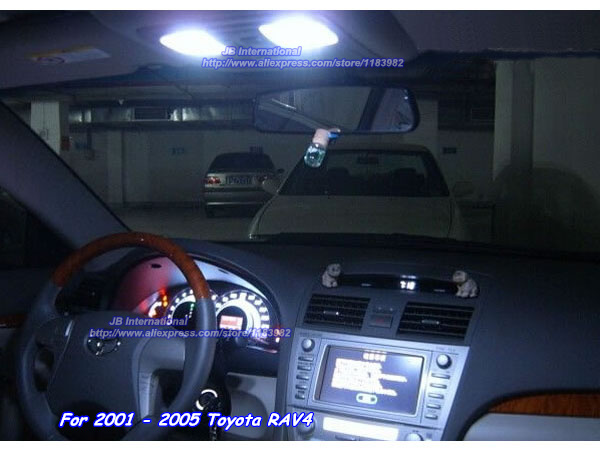 Parking Canbus Led Interior Light Xenon White Kit For
