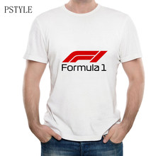 Summer T-shirts Men Max Verstappen Tees Shirts Male Formula 1 Design Graphic Print Short Sleeve White Men F1 AYRTON Fans Tops(China)
