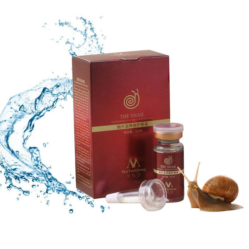 12ml Unique Whitening Blemish Anti-Acne Rejuvenated Snail Hyaluronic Acid Liquid