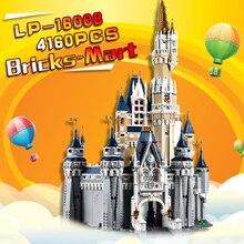 LEPIN 16008 Cinderella Princess Castle City Model Building Block Kid Toys Gift Compatible 71040