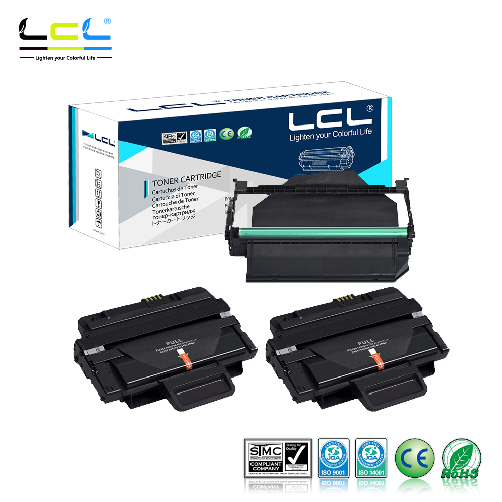 LCL MLT-D204L MLT-D204S MLT-R204 204 D204 R204  (3-Pack Black) Toner Cartridge Compatible for Samsung SL-M3825 4025 3875 4075 тонер картридж samsung mlt k606s see для scx 8040nd черный 35000стр