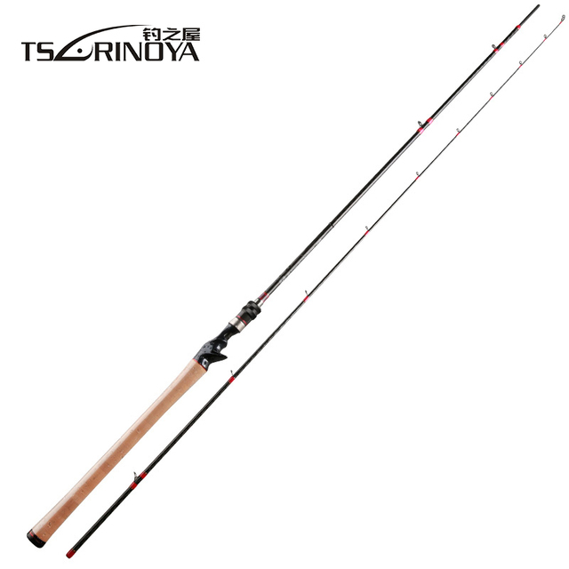 TSURINOYA Casting Rod 2.47m 2 Section Carbon Distance