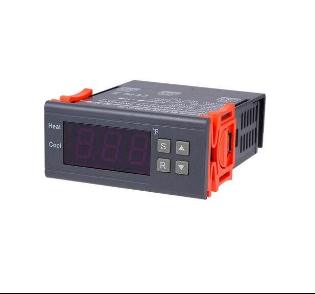 MH1210F 10A AC110V 220v DC12V Digital Temperature Controller Thermocouple Sensor Instruments termostato digitale stazione meteo dc 1210 каркам