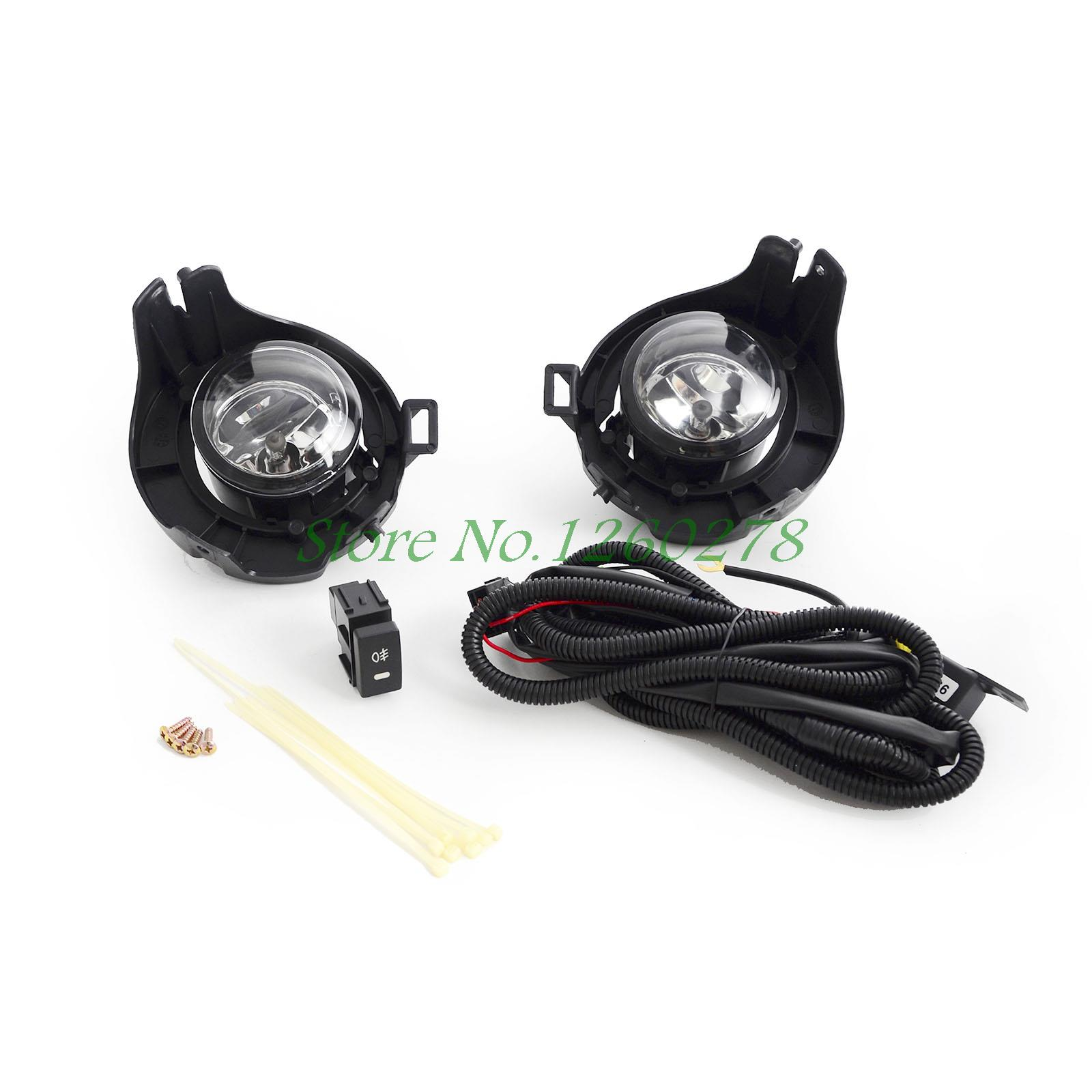 For Nissan NAVARA D40 Driving/ Fog Lights Lamps Complete Kit 2005-2014 for nlssan navara d40