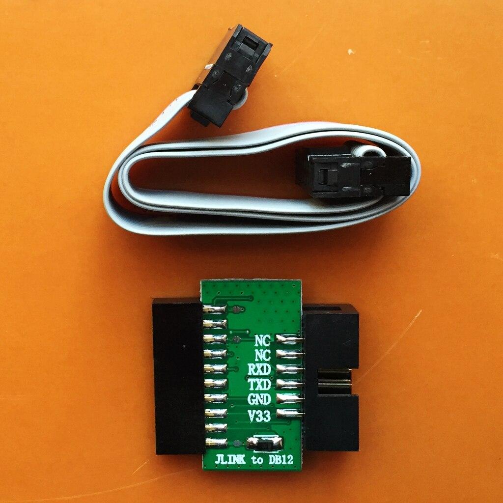 JLINK к DB12 для CC2640 NRF52832 NRF51822 BLE multiboard