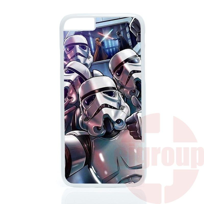 a lot of stormtrooper star wars For Xiaomi Mi2 Mi3 Mi4 Mi4i Mi4C Mi5 Redmi 1S 2 2S 3S 2A 3 Note 2 3 Pro Accessories Pouches