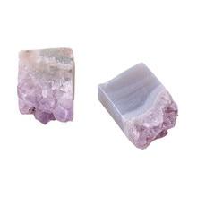 1pc Crystal Natural Amethyst Quartz Point Crystal Cluster Healing Specimen Natural Stones Minerals Home Decor