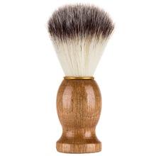 PRETTYSEE 1PC Wooden Folding Beard Comb Pocket Size Boar Bristle Beard Brush Boar Hairdresser Cleaner Brush Pocket Beard Comb