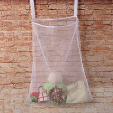 Multipurpose Baby Dirty Clothes Bag Bed Large Hanging Storage Bag Crib Organizer Bed Hanging Household For Home Storage Supplies(China)