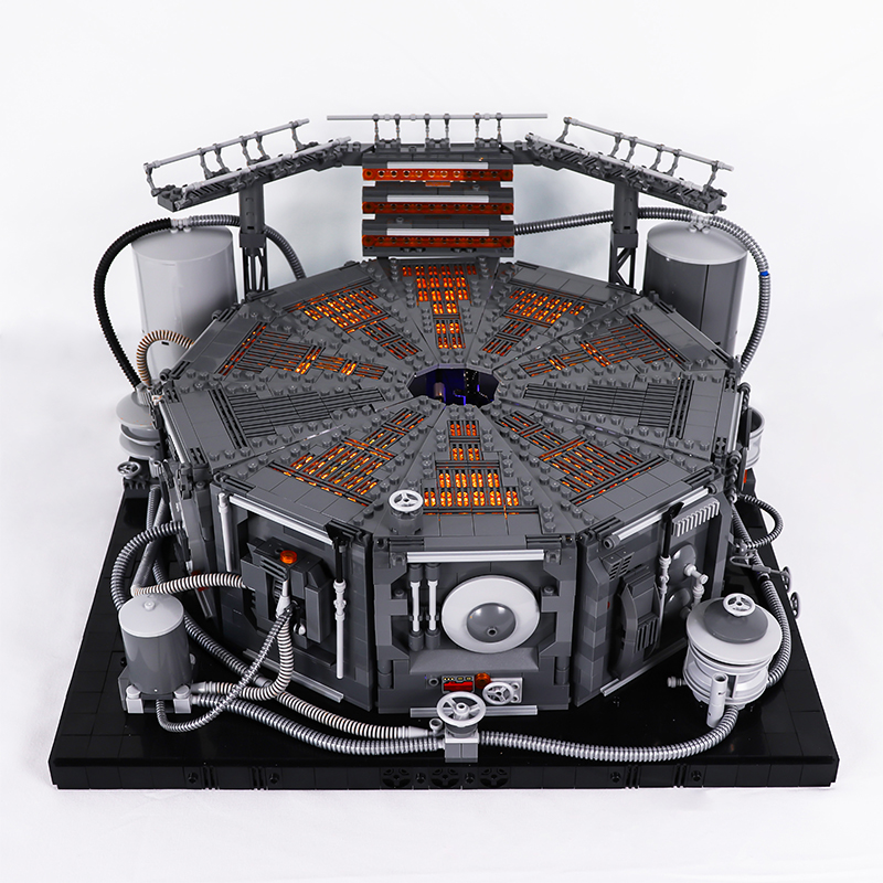 MOC 3000pcs LED Light Starwars Carbon Freeze Chamber Building Blocks Bricks Toys Compatible With Star Wars