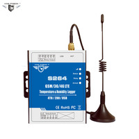 SMS Temperature Monitoring Humidity Alarm GSM 2G 3G 4G GPRS Remote Controller Support Modbus TCP IP