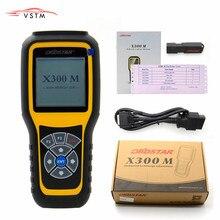 OBDSTAR X300M odómetro OBDII corrección X300 M herramienta de diagnóstico de ajuste de kilometraje (todos los coches se pueden ajustar a través de Obd) actualización con tarjeta TF