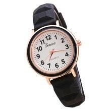 New Fashion Women Round Dial Silicone Band Quartz Analog Wrist Watch relogio feminino free shipping gift