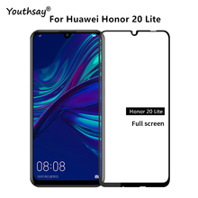 1PCS 2.5D For Huawei Honor 20 Lite Glass Full Glue Screen Protector Film for