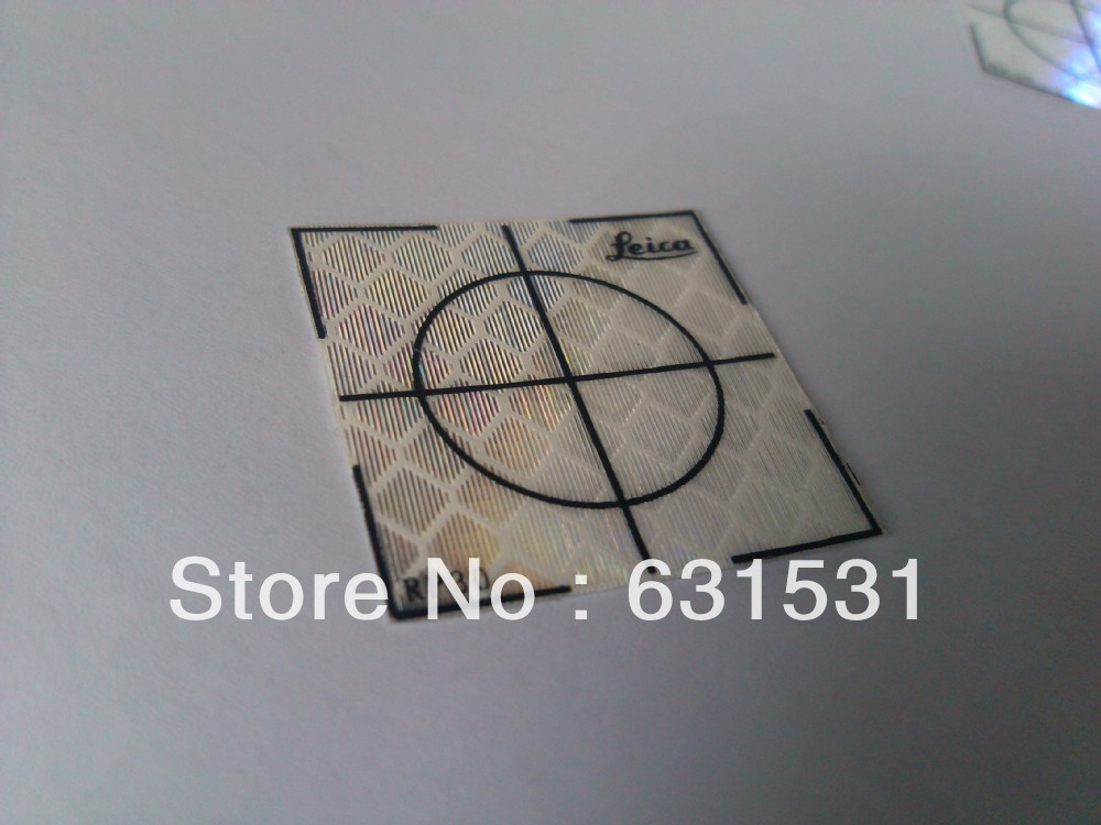 100pcs Reflector Sheet 30 x 30 mm 30x30 Reflective Tape Target Total Station